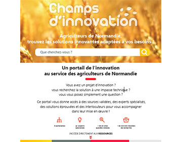 Portail Champs d'innovation